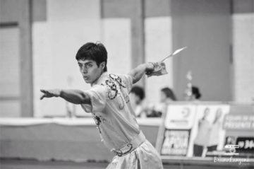 Ariel Mancilla, Atleta de Wushu chileno Top Ten Mundial.