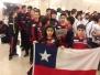 VII Sudamericano de Wushu Uruguay 2017